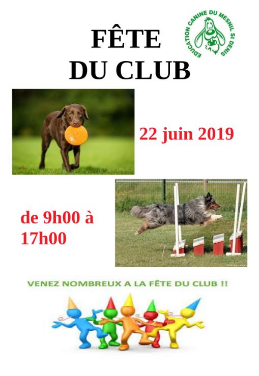 Affiche club 1